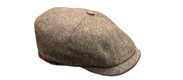 casquette-eclair-tweed-barnstormer-made-in-france