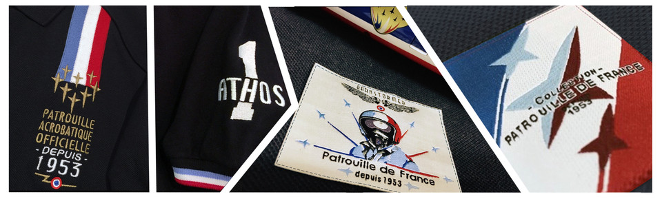 patrouille de france polo N°1 barnstormer made in france